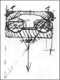 Роликовый подшипник, сконструированный Вингквистом
